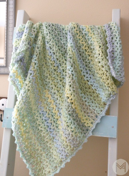 Video Tutorial Learn To Read A Blanket Pattern And Add A