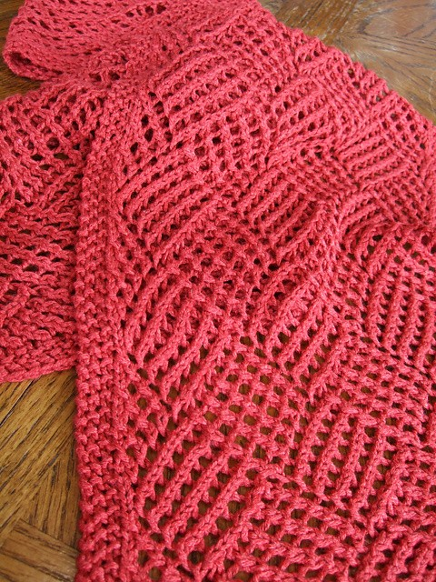 Free Pattern Absolutely Stunning Lace Knit Reversible ...