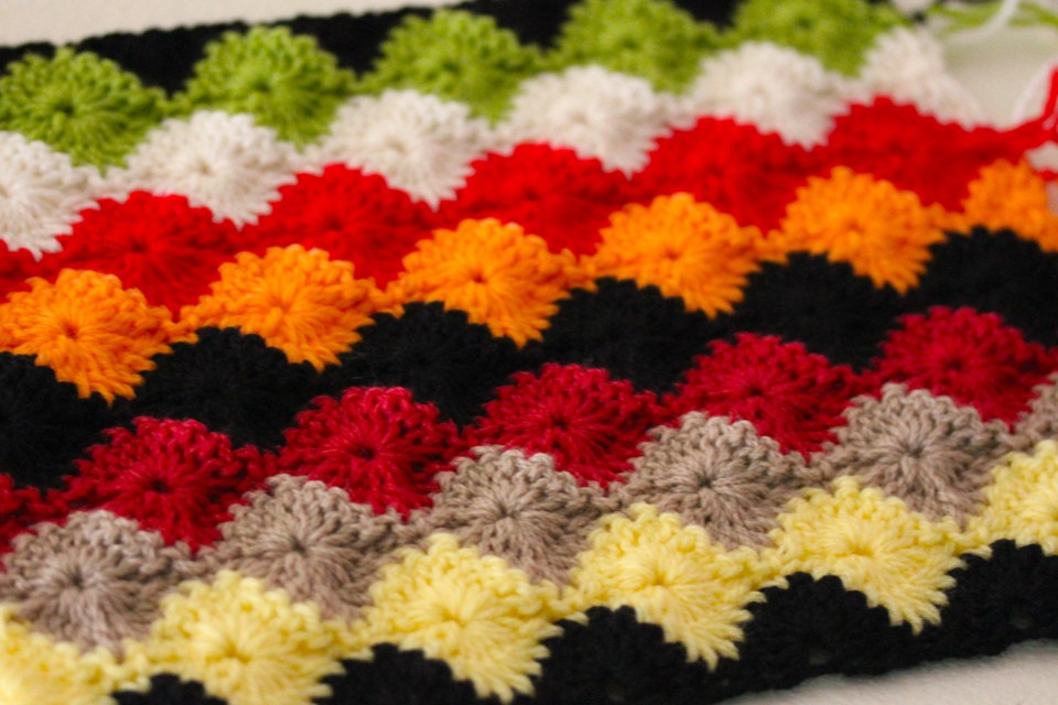 Free Crochet Harlequin Blanket Pattern : Crochet Stitches: [Free Pattern] Learn A New Crochet ...