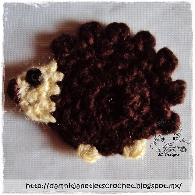 Hedgehog Applique by Janet Carrillo