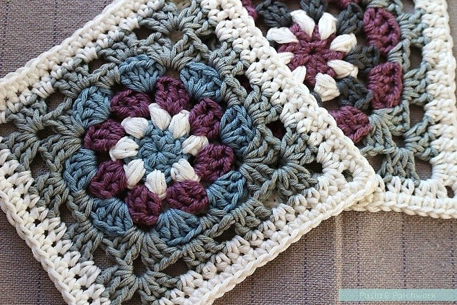 free pattern amazingly beautiful lily pad granny square