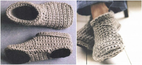 Free Pattern] Cosy And Stylish Crochet Slipper Boots - Knit And ...