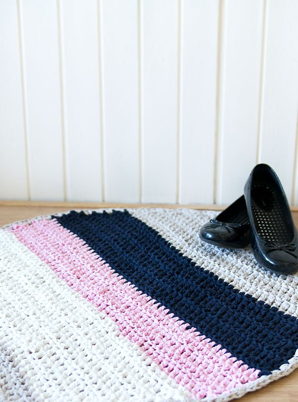 The Fast Way to Crochet a Rug by Marinke Slump