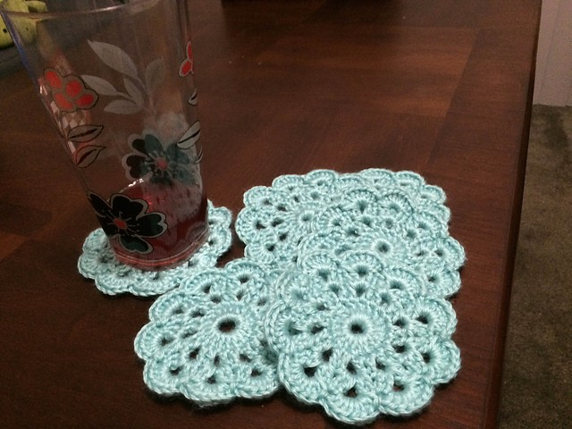 These Crochet Coasters Are Simply Beautiful