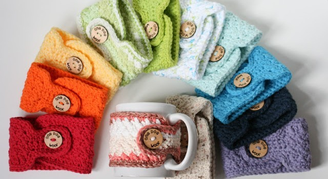 Free Pattern Adorable Crochet Coffee Cozy Pattern For Everyday