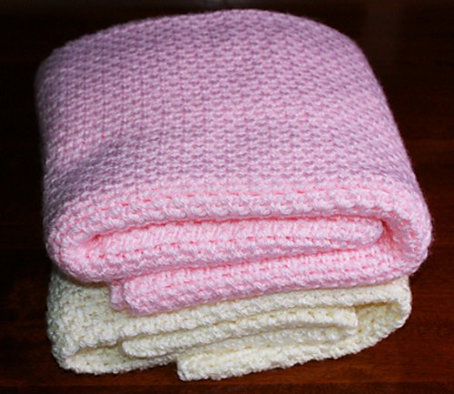 Free Pattern This Is By Far The Fastest And Easiest Baby Blanket