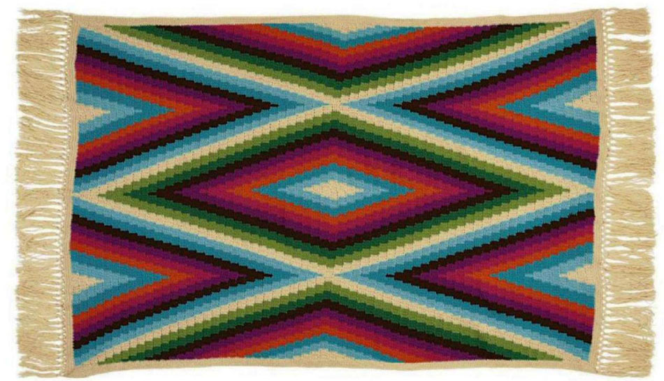 Bohemian Knitting Patterns : [Paid Pattern] This Gorgeous Bohemian Blanket Is Crocheted In 7 Pieces. Take ...
