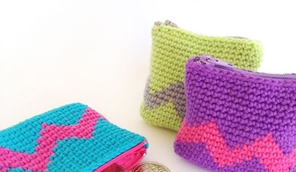 Free Pattern Tapestry Crochet Is Ideal For Pouches Bags Bowls Or