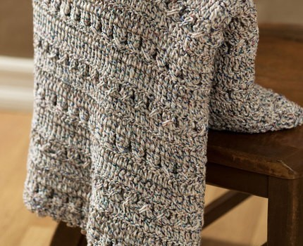 Free Pattern This Softly Textured Crochet Afghan Is A Terrific