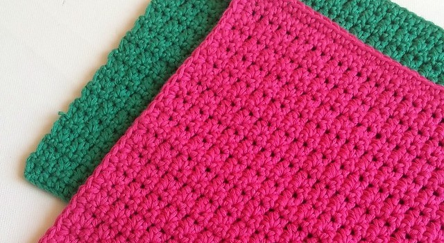 Free Pattern This Easy Dishcloth Looks Great And Works Up Quickly