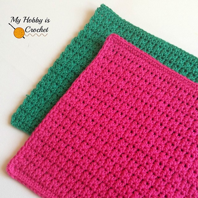 [Free Pattern] This Easy Dishcloth Looks Great And Works Up Quickly
