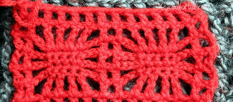 Video Tutorial Learn A New Crochet Stitch The Spider Stitch Knit