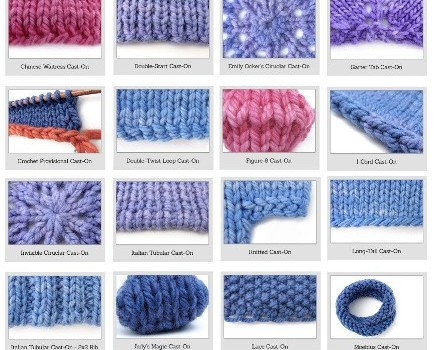 How To Cast On Knitting Stitches For Dummies : Knitting For Beginners: 38 Different And Awesome Cast-on Stitches