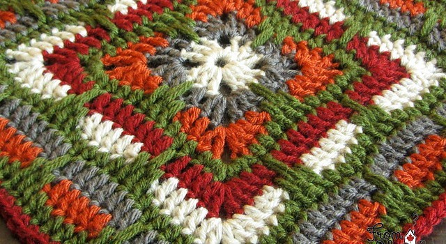 Free Pattern This Larksfoot Inspired 12 Granny Square Is Gorgeous