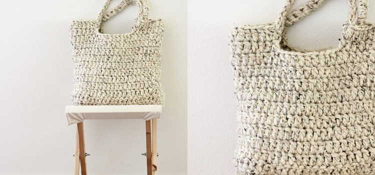 Free Pattern] This Crochet Tote Is Perfect!