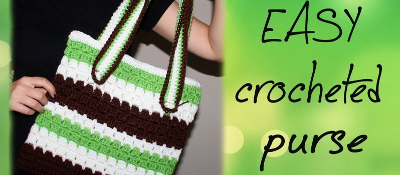 Video Tutorial This Easy Crochet Purse Is A Perfect Crochet Project