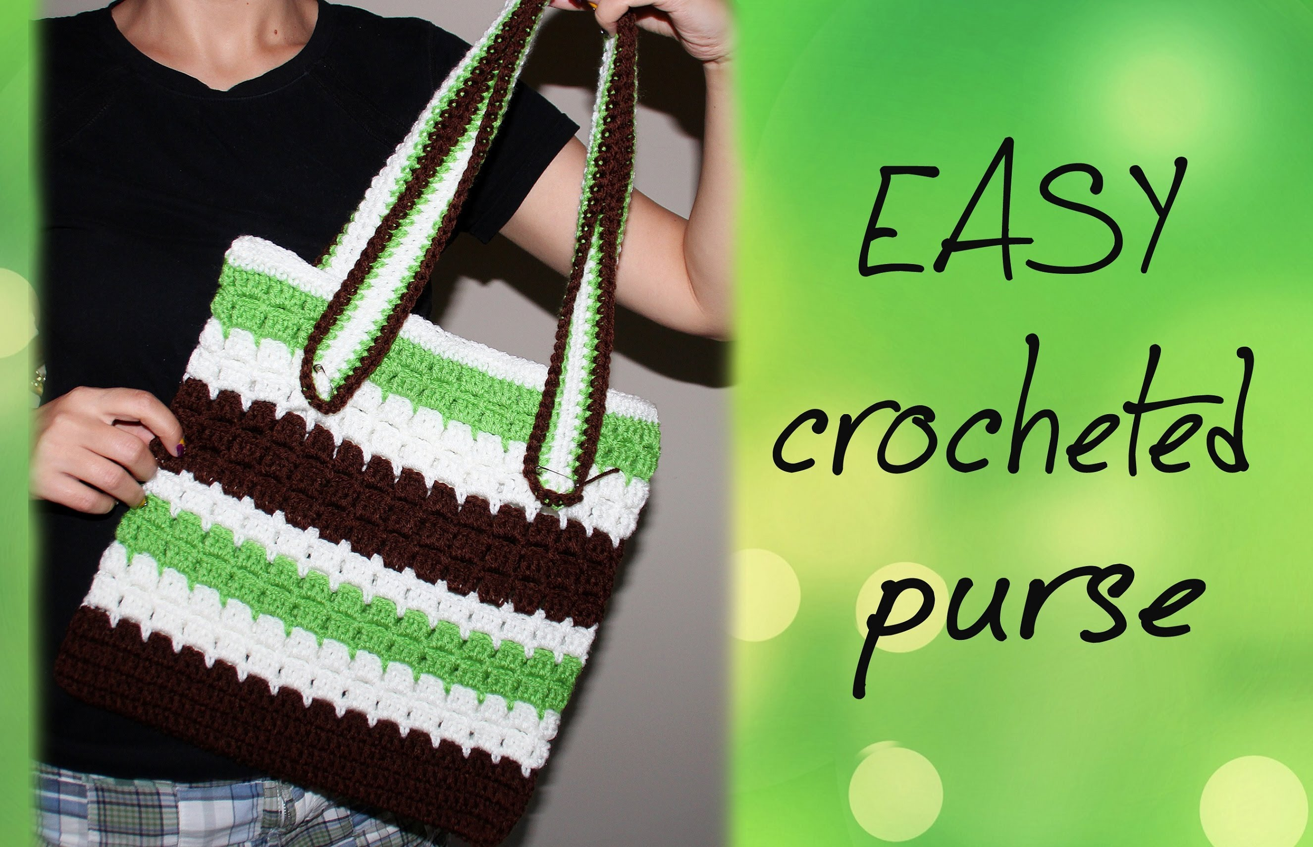 Video Tutorial] This Easy Crochet Purse Is A Perfect Crochet Project ...