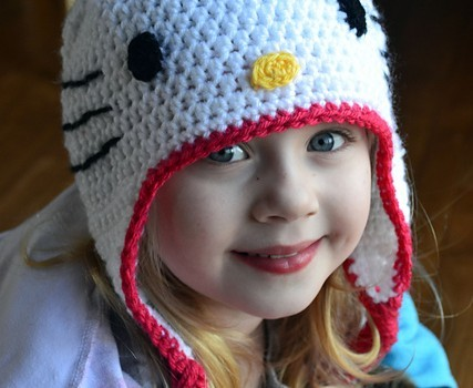 Free Pattern Adorable Hello Kitty Hat Knit And Crochet Daily