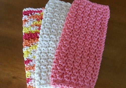 Free Pattern This Super Simple Dishcloth Pattern Makes A Fairly