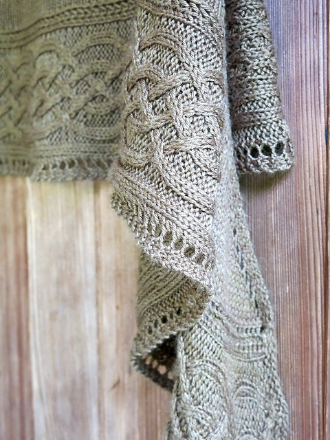 Free Pattern Absolutely Stunning Light Weight Cables