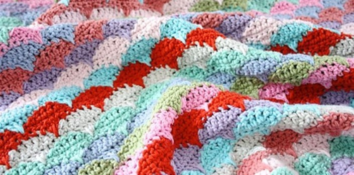 Free Pattern I Fell In Love With This Clamshell Pattern Knit And
