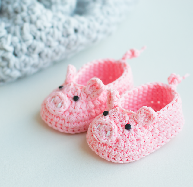 Amigurumi Baby Booties Free Pattern : [Free Pattern] Adorably Cute Baby Booties That Will ...