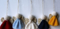 [Free Pattern] These Angel Ornaments Are Charming And So Easy To Make!
