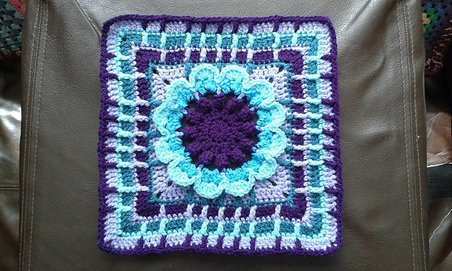 Free Pattern This 12 Inch Afghan Block Is Amazing
