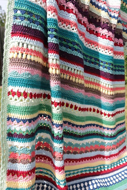 Spice of Life Blanket by Sandra Paul