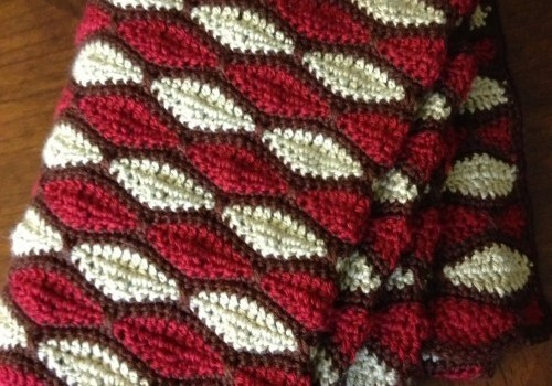 Free Pattern This Gorgeous Streamwave Afghan Reminds Me Of Stained