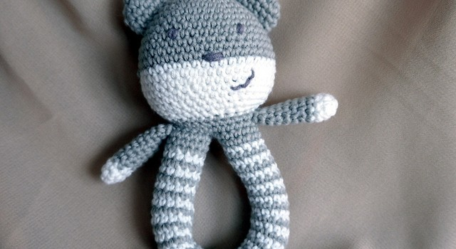free pattern  this easy to make baby rattle is so adorable