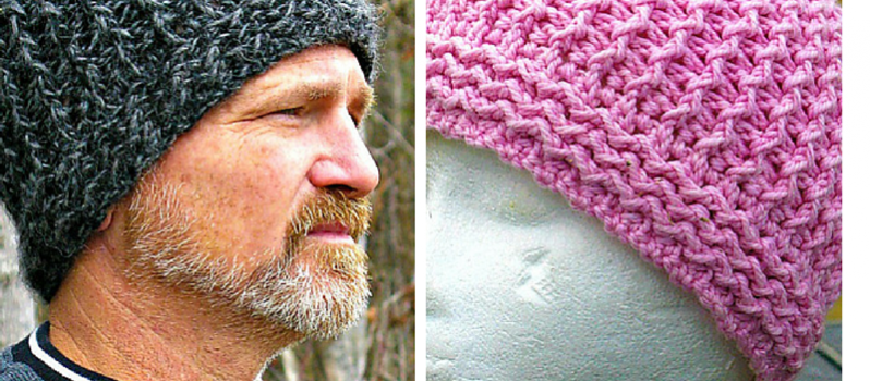 Free Pattern] Warm, Wavy Textured Crochet Hat Perfect Cold Weather ...