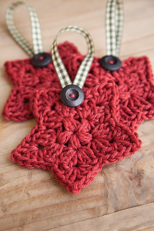 Free Crochet Pattern Christmas Star : [Free Pattern] This Crochet Star Is So Adorable! - Knit ...