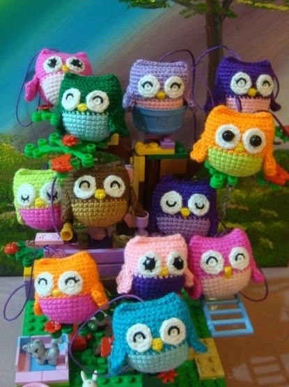 [Free Pattern] These Little Lovely Crochet Owls Are The Best!
