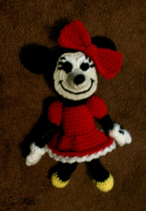 [Free Pattern] Absolutely Adorable Minnie Mouse!