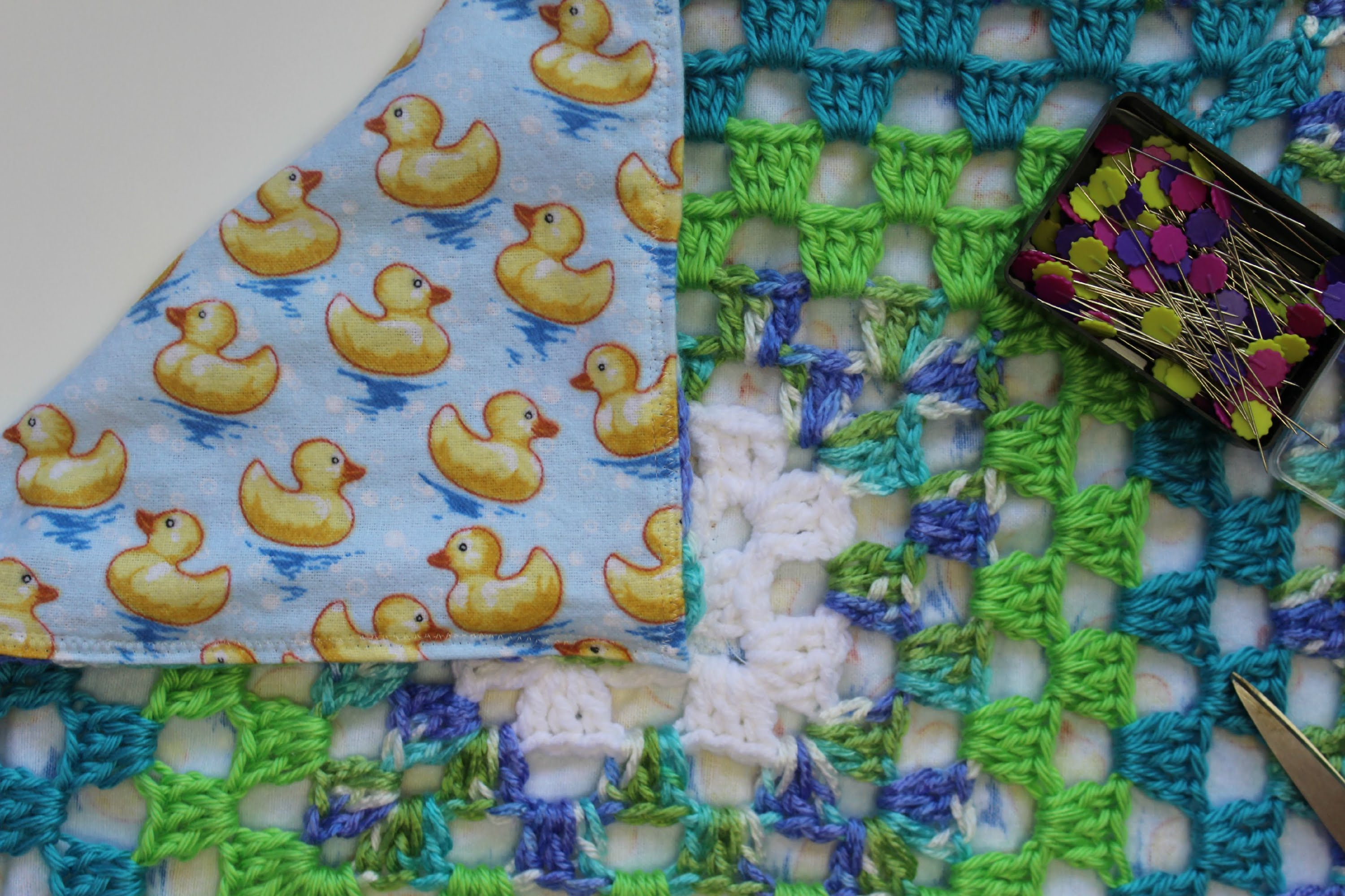 Video Tutorial Backing A Crochet Blanket Made Simple