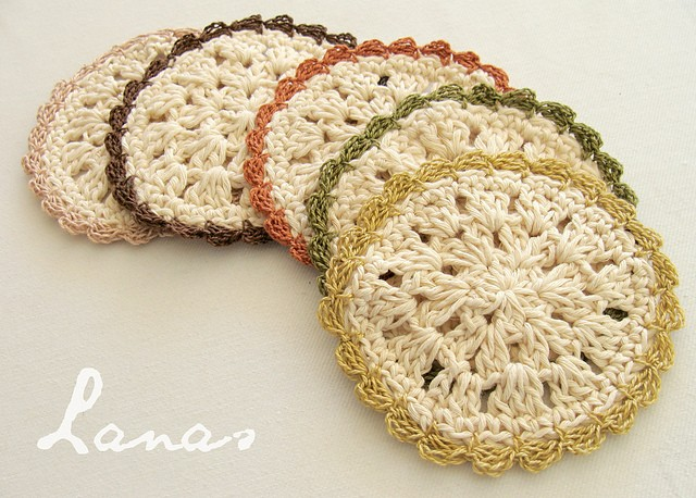 Bloom Coasters by Ana Contreras