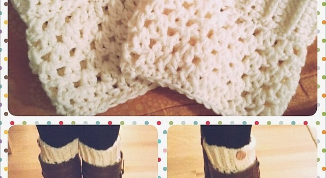 Free Pattern These Crochet Boot Cuffs Are Stunning And Easy Knit