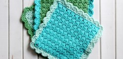 [Free Pattern] Precious Little -Easy To Make- Dishcloths