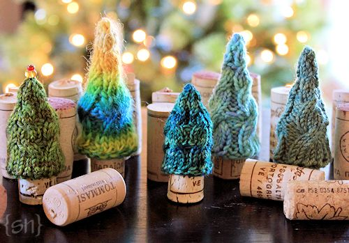 Fanciful Little Holiday Trees