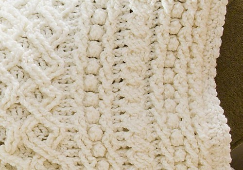 ... ] Wonderful Lattice Weave Crochet Throw - Knit And Crochet Daily