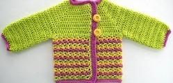 Loopy Love Baby Sweater by Tamara Kelly