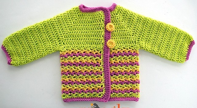 Free Pattern Fabulous And Easy To Make Baby Sweater Knit And