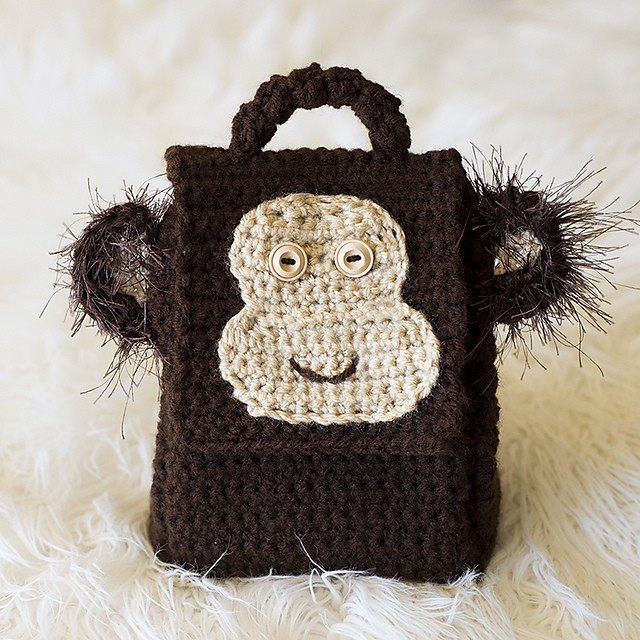 Monkey Lunch Box by Melody Rogers