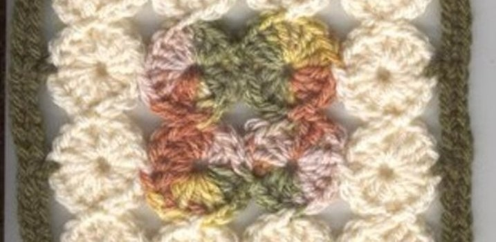 Free Pattern Gorgeous 16 Circles Square With Unusual Construction