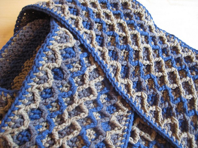 Crochet Scarf Patterns Zigzag : Learn A New Stitch: Crochet Zigzag Stitch ( Zigzag Scarf Free Pattern ...
