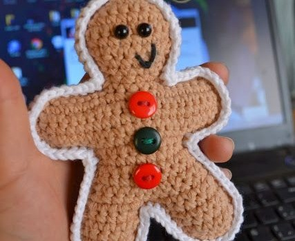 Free Pattern This Fantastic Gingerbread Man Is Terribly Cute