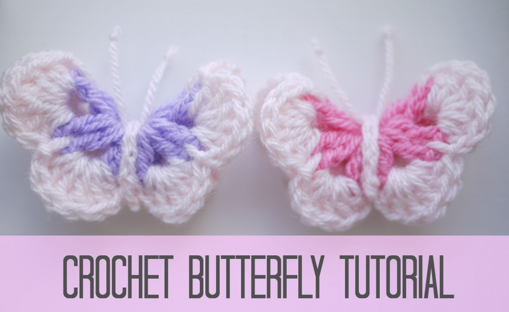 [Video Tutorial] Spread Love With The Easiest And Cutest Crochet Butterflies Ever!