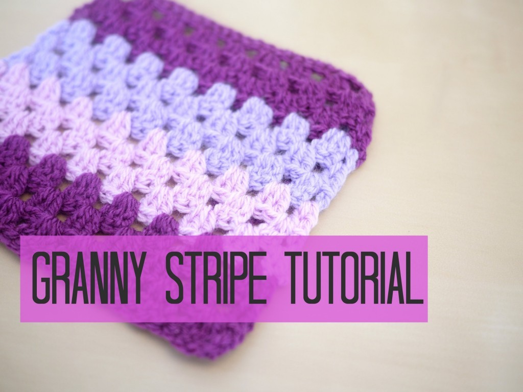 [Video Tutorial] Learn How To Make A Granny Stripe Blanket With An Easy To Follow Video Tutorial