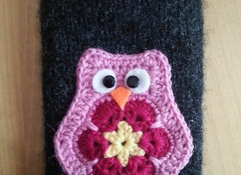 Free pattern] super hot and trendy owl applique pattern knit and